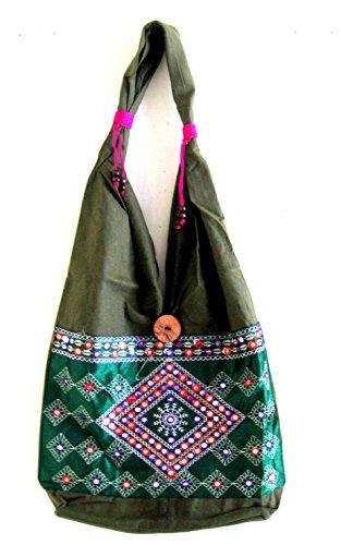 Sling Bag Cotton Purse Boho Indian Hand bag Handbag-Indian ...