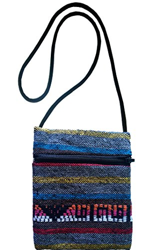 Nepali Hand Woven Sling Crossbody Hippie Boho Hobo Shoulder Purse Cellphone Case Hmsc102 3