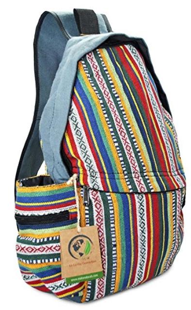 94edae4353 Mato Sling Bag Backpack Boho Bohemian Tribal Aztec Baja Pattern One Shoulder  Daypack