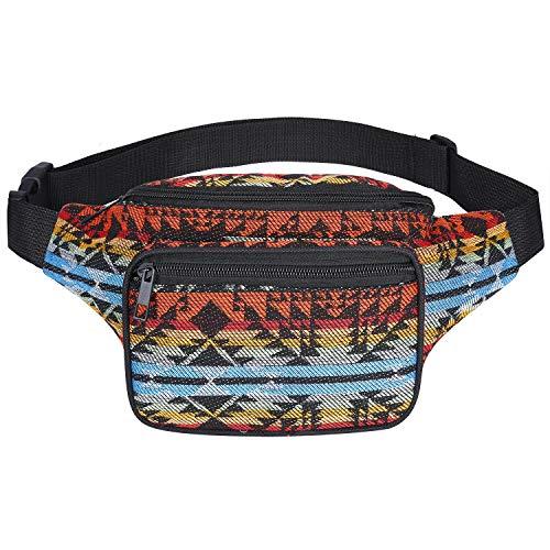 Hamsa Hand Funny Sport Waist Pack Fanny Pack Adjustable For Run