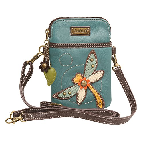 Chala Crossbody Cell Phone Purse – Women PU Leather Multicolor ... a6dc5e2de42db
